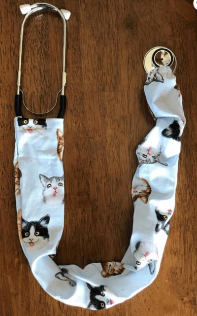 cat stethoscope cover