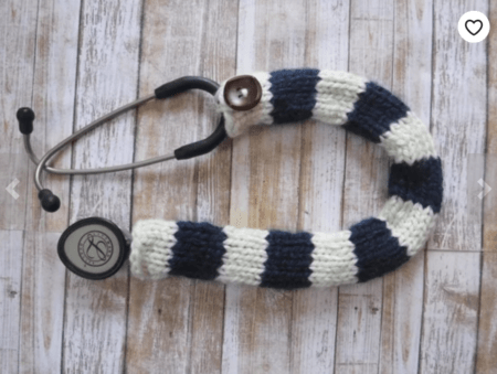cozy sweater stethoscope cover