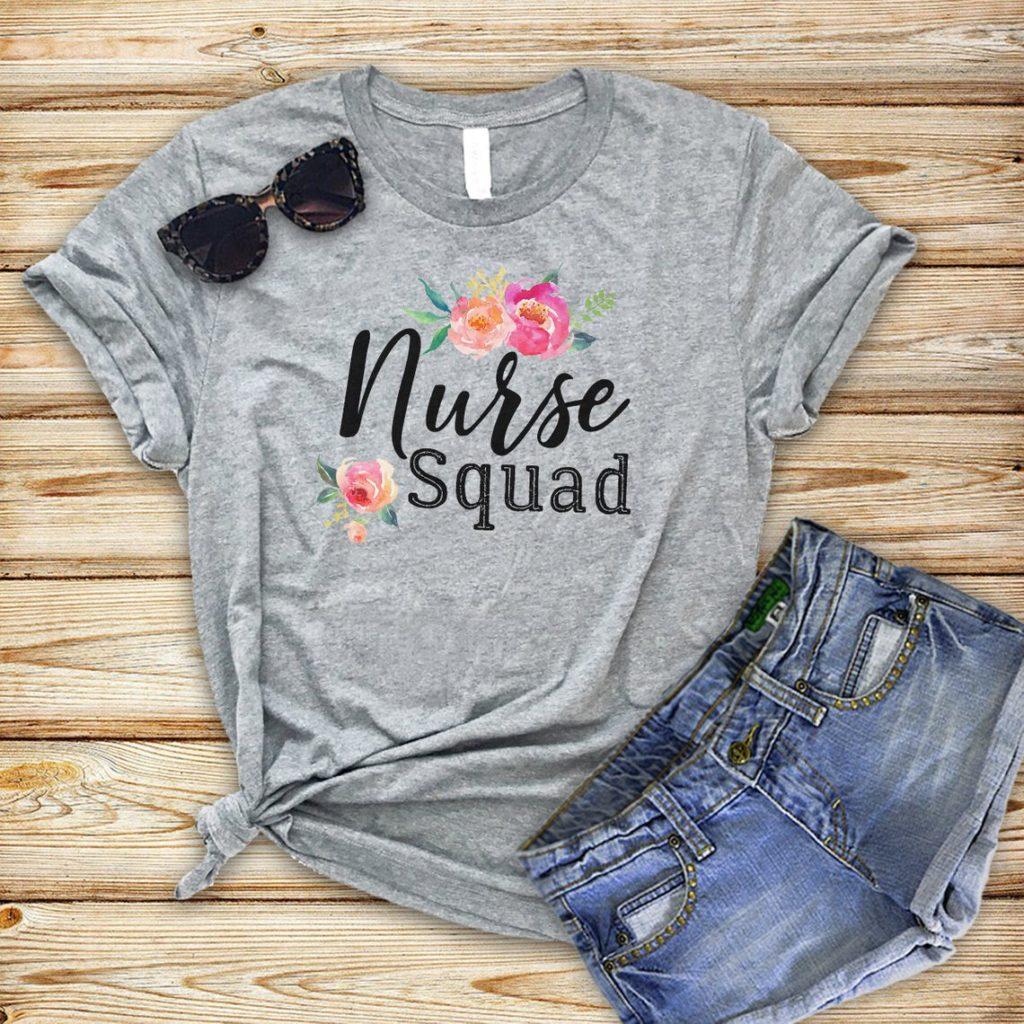 nurse squad t shirt