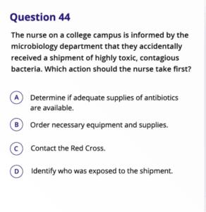kaplan nclex question