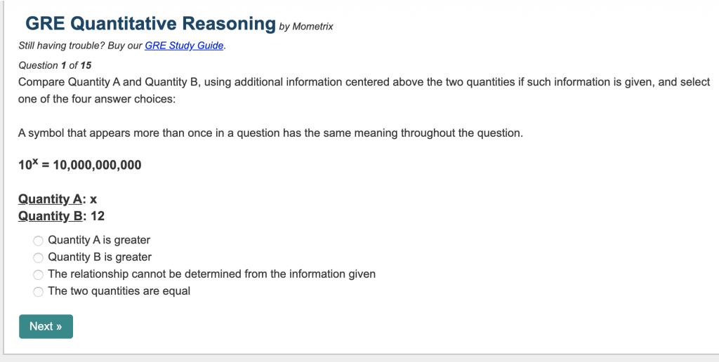 mometrix free gre practice questions