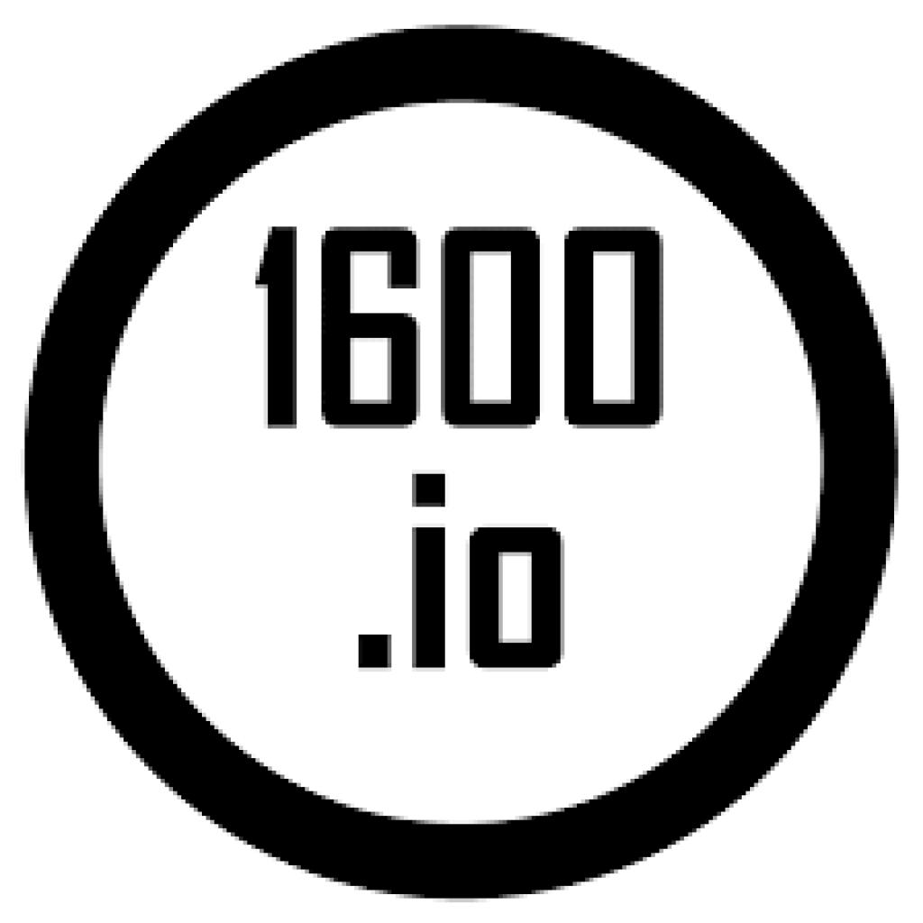 1600.io logo