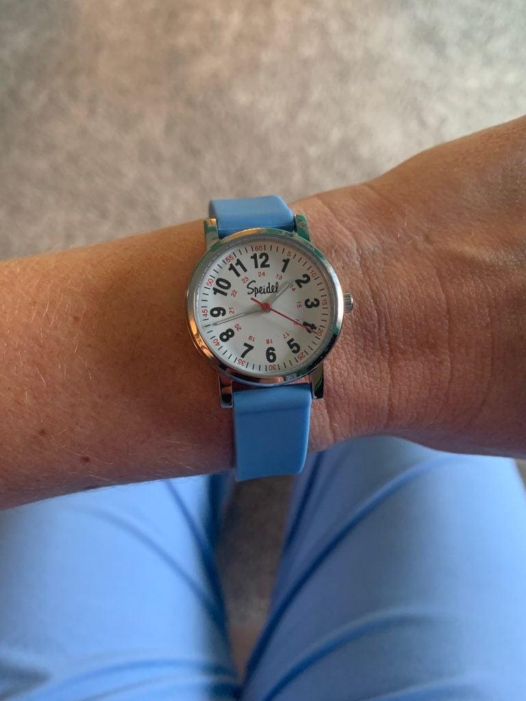 speidel scrub watch review