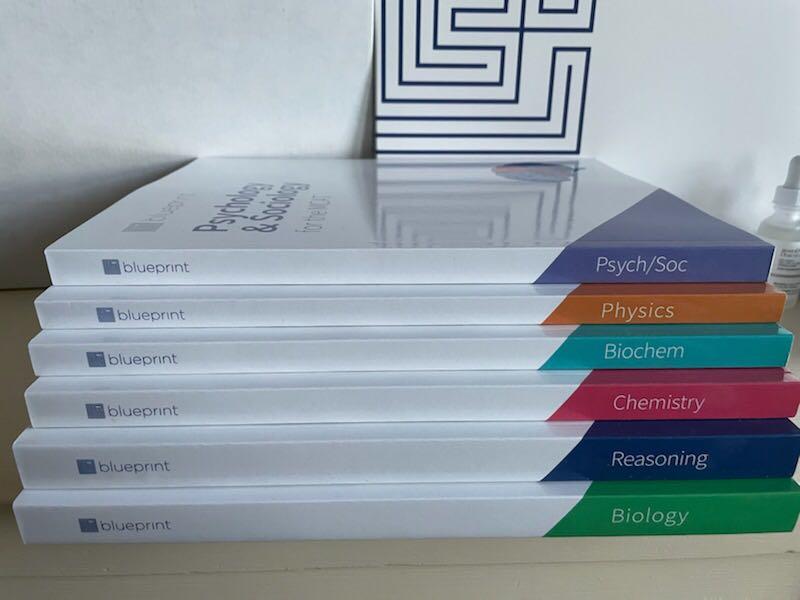 blueprint mcat book set