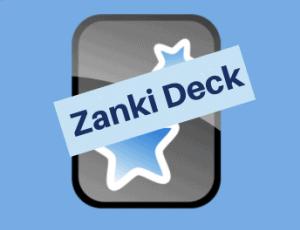zanki deck