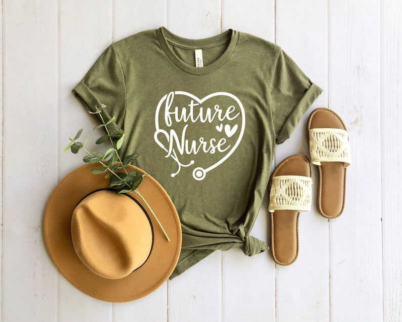 Future Nurse Shirt Nursing School Shirt Nursing Student   Etsy